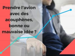 Image illustrant le sujet Prendre l'avion avec des acouphènes, bonne ou mauvaise idée ?