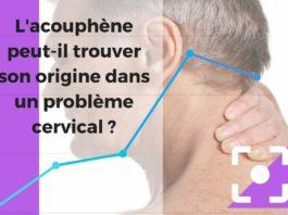 Cette image illustre le lien qui existe entre les problèmes cervicaux et l'acouphènes.