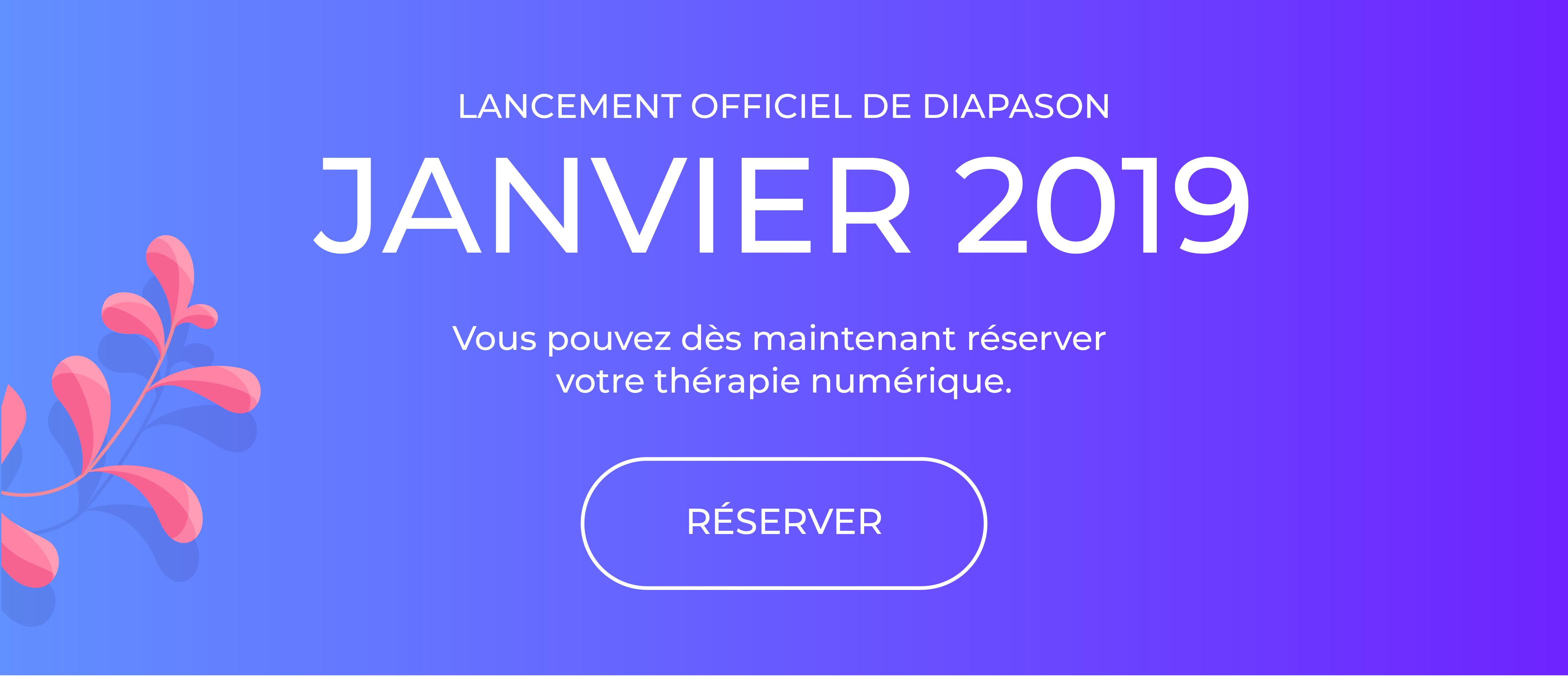 L'application Diapason sera lancée officiellement en janvier 2019