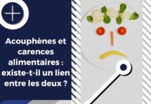 Les déficits en nutriments peuvent induires l'apparition et l'aggravation des symptômes acouphéniques