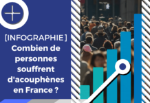 Ce visuel illustre l'article dédié à l'acouphénie dans la population Française